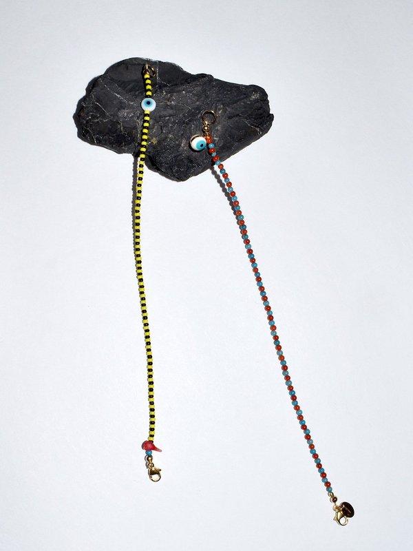PUNKWASP Corn Snake and Earth Sea Bracelets