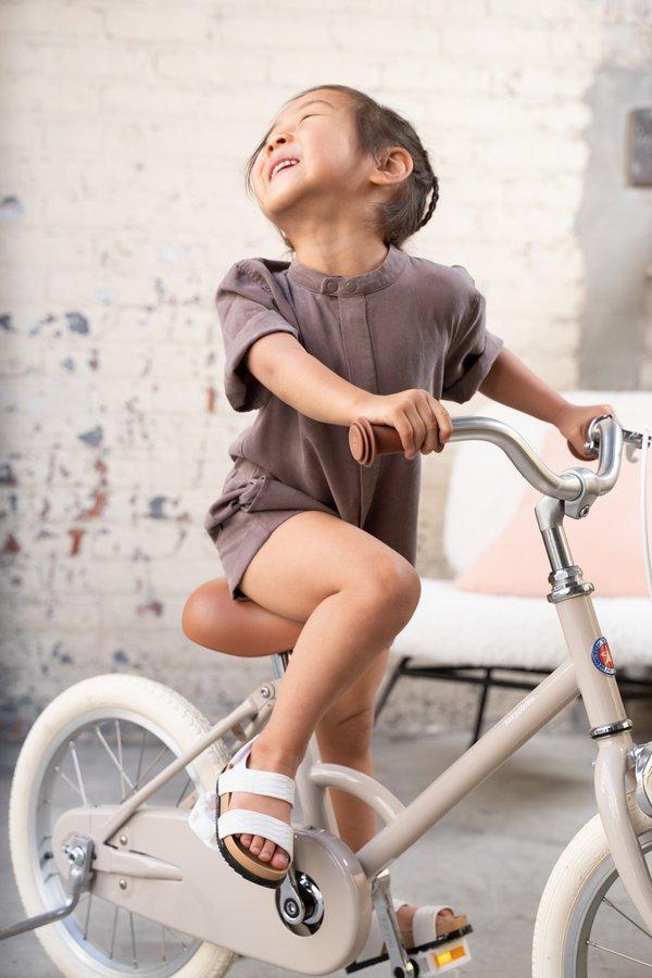 Kids Mechanic Short Jumpsuit - Grey