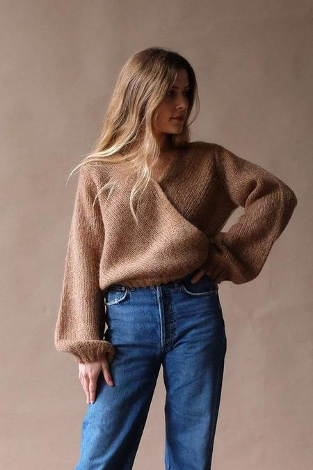 Just Female Dolly Wrap Knit - Nature Combo