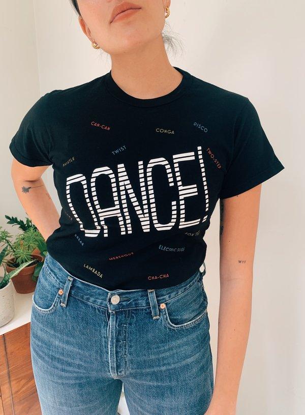 Monogram Dance Tee - black