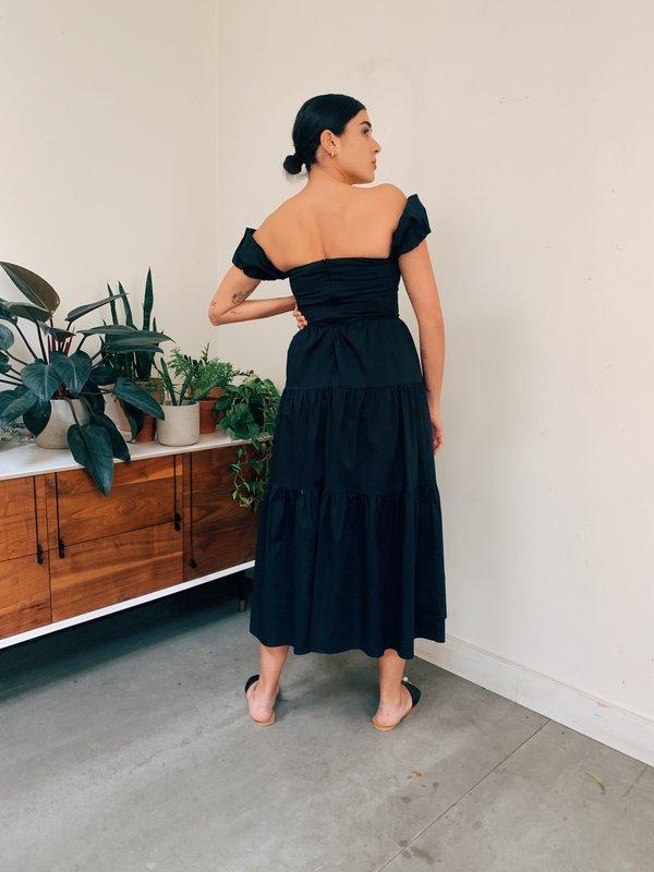 Staud Elio Dress - Black