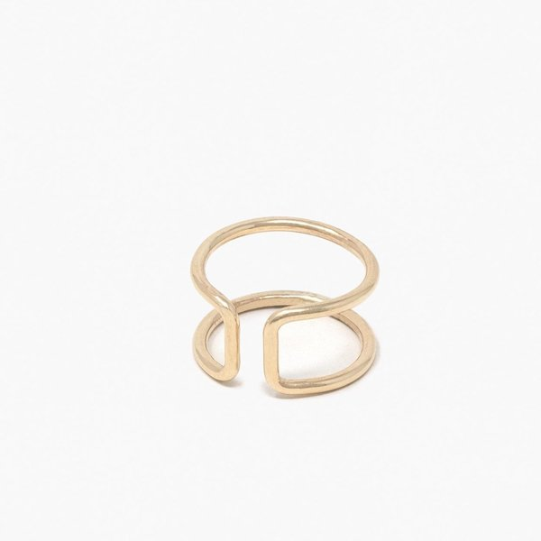 ABLE Cuff Ring - 14K Gold