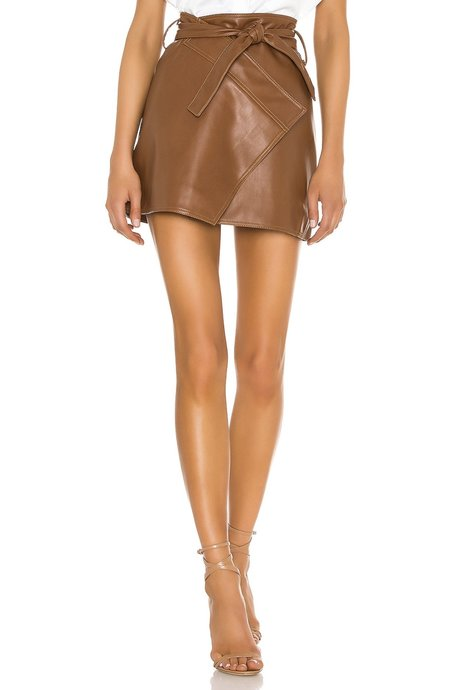 Divine heritage Wrap mini skirt