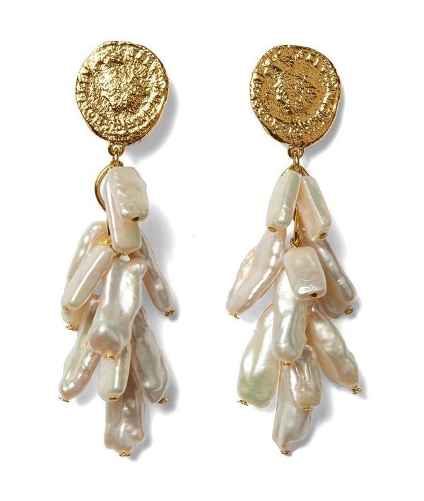 Lizzie Fortunato ROMA EARRINGS - GOLD