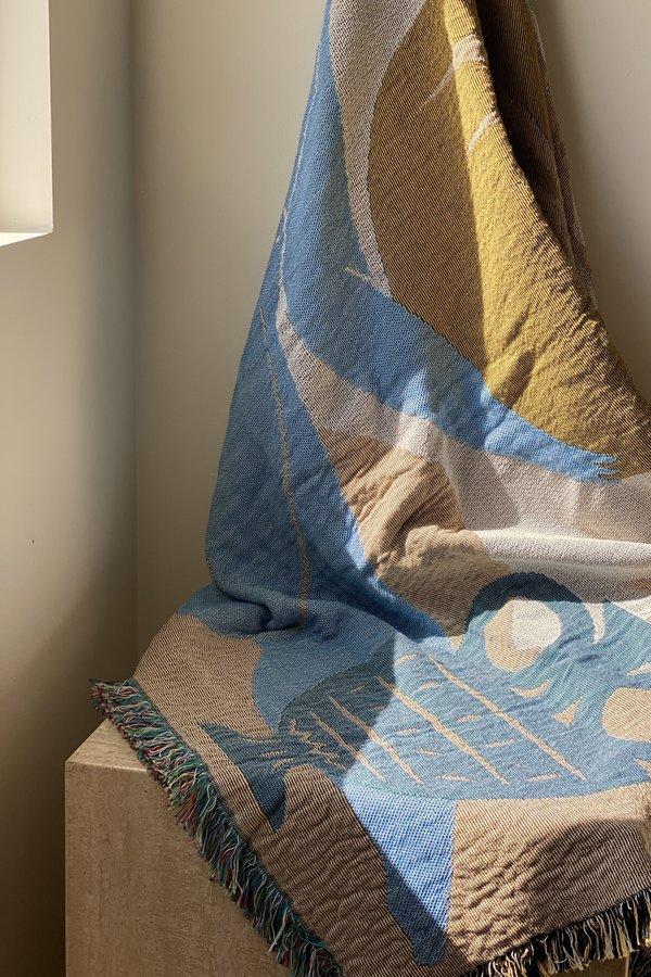 Slowdown Studio Birkin Woven Throw Blanket
