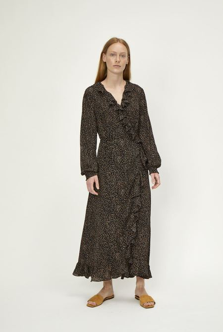 Just Female Imogene Maxi Wrap Dress