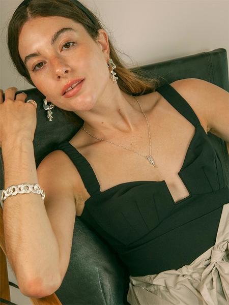 MM Druck El Caballo Necklace Medium - sterling silver