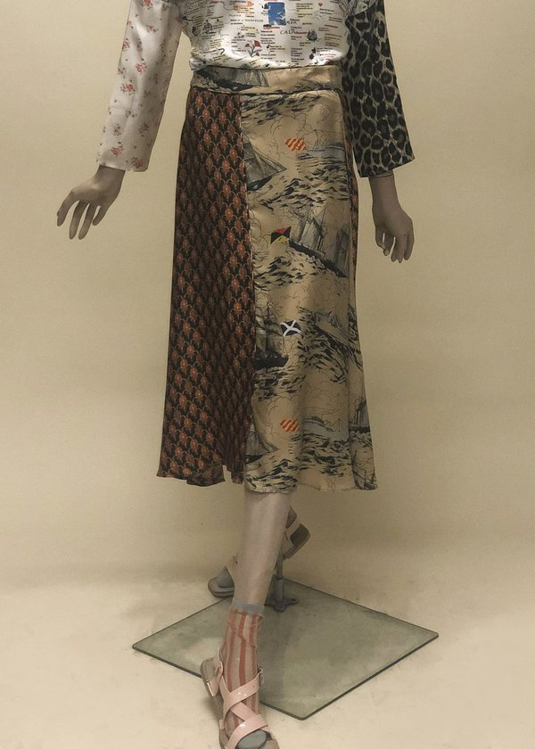 La Prestic Ouiston Parapluie Mix Skirt - Multi