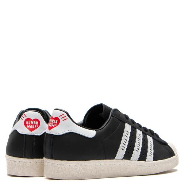 adidas Originals by Human Made Superstar 80s Sneaker - Core Black