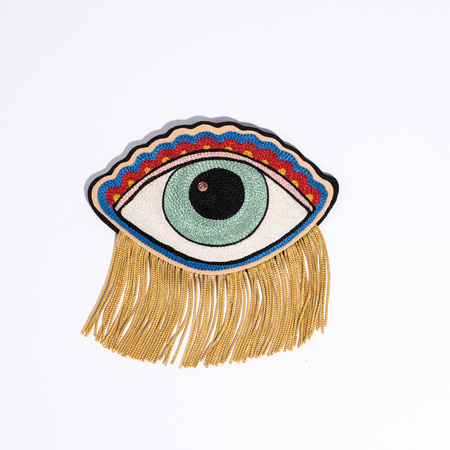 Casey Jane Patches CJ Chainstitch Eye Patch - Yellow