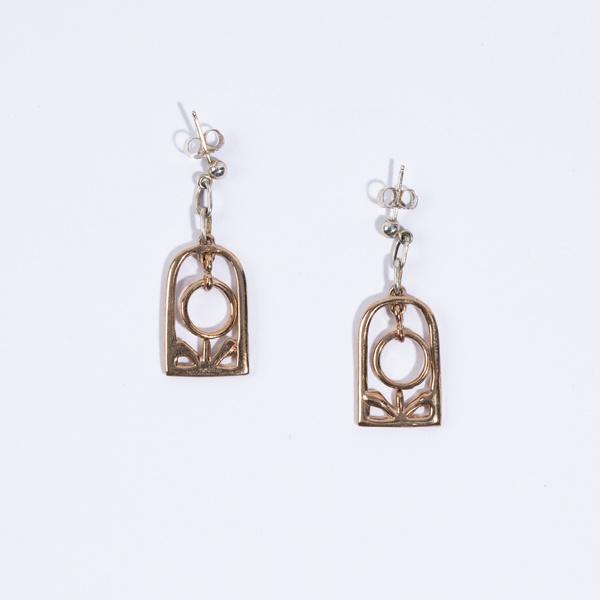 open house projects Open House Ara Earrings - Bronze/Sterling