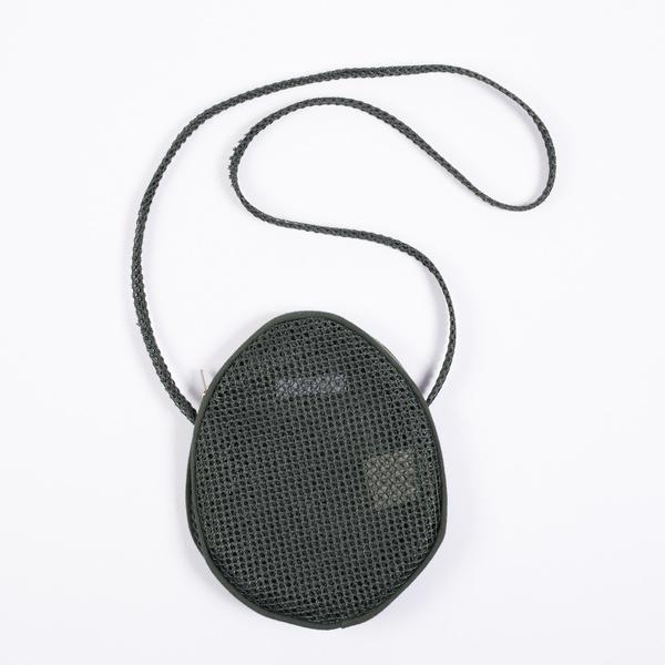 Lotfi Rita woven polyester mesh egg bag - Mar