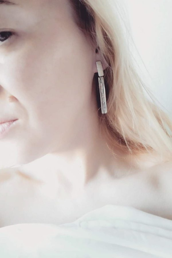SMARAGDA'S ART BEAUTIFUL DAY EARRINGS - Silver 925