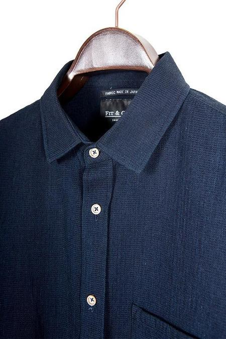 FIT & CRAFT CHORUS SHIRT - INDIGO