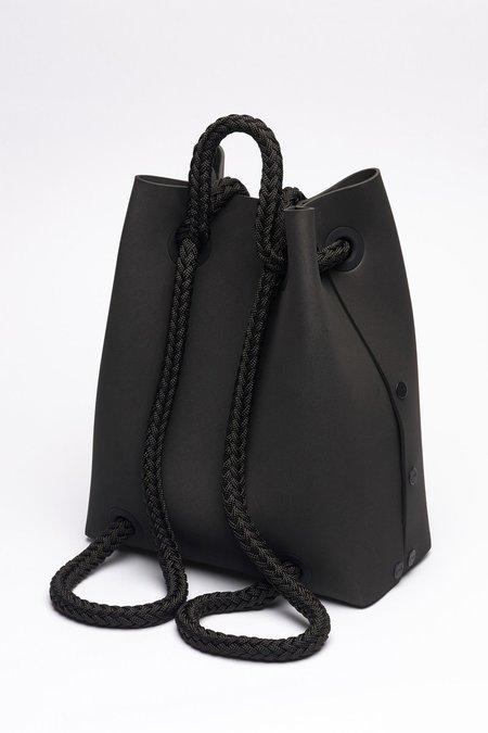 LOMMER EVAPACK REGULAR BLACK & BLACK ROPE