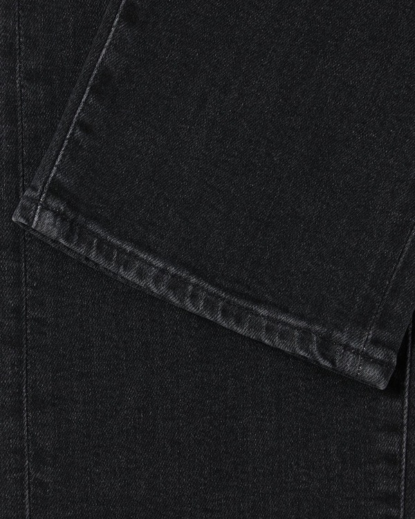 Edwin ED-80 Ayano Black Denim - Kioko Wash