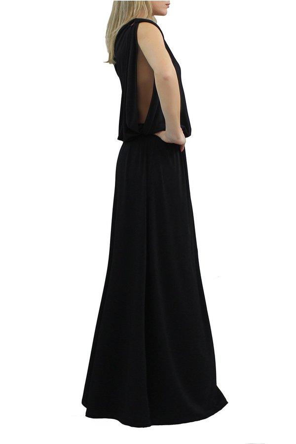MARILIA CHRISTINA MAXI DRESS WITH SLIT
