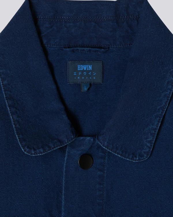 Edwin Camel Jacket - Midnight Blue