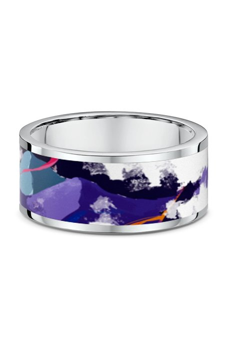 ICEBOW DESIGNS MOUNTAIN WIDE RING
