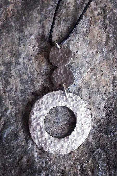 SMARAGDA'S ART WATERFALL PENDANT - Silver