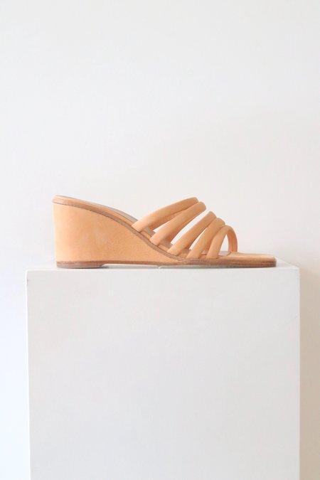 Paloma Wool Magdalene Heel Wedge - Nude