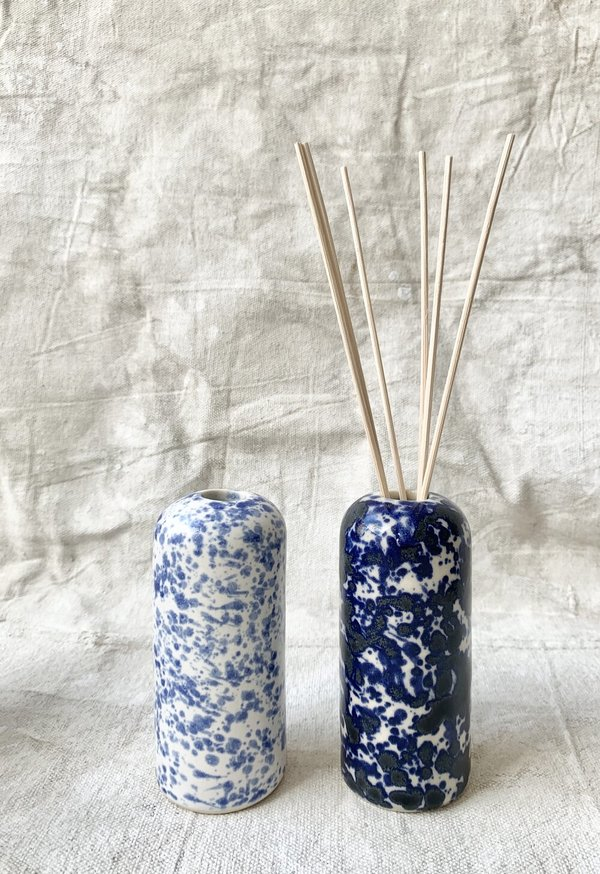 Cuttalossa & Co. Splatter Domed Vase