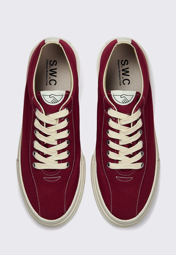 unisex Stepney Workers Club Dellow Canvas - dust red