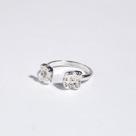 Saint Claude x Freda Double Primrose Ring - Sterling