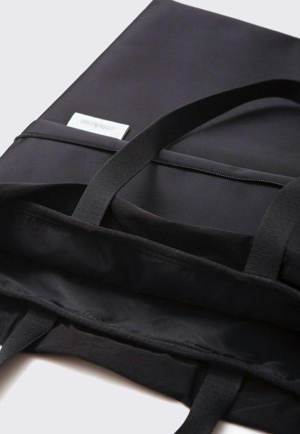 cote&ciel Zaan Sleek Nylon Tote - black