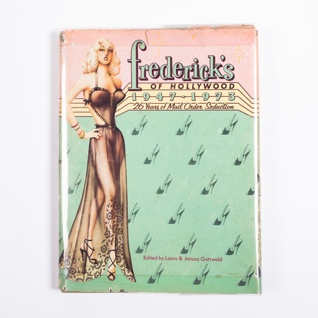 "The Librarian 'Fredericks of Hollywood 1947-1973"" by Laura and Janusz Gottwald book"