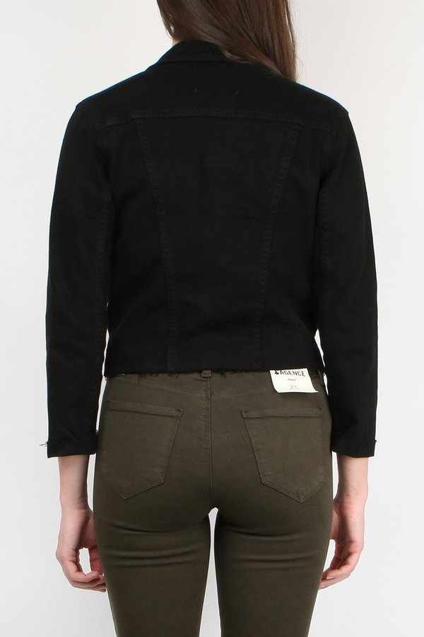 L'agence Janelle Slim Jacket - Saturated Black