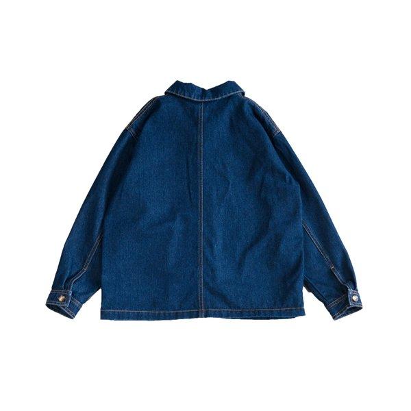 kids Main Story Artiste Jacket - dark wash