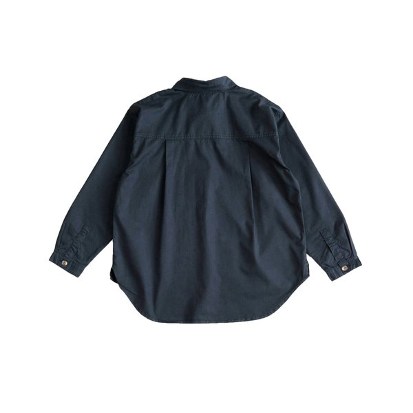 kids Main Story Buttondown Shirt - phantom