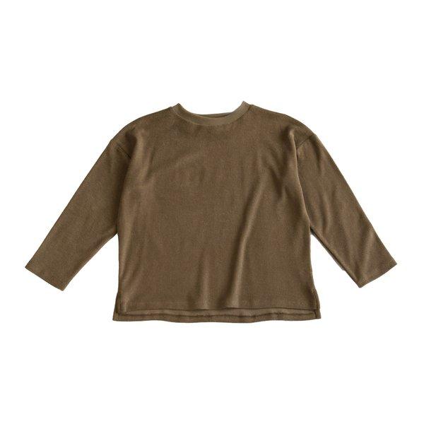 kids Main Story Oversized Long Sleeve T Shirt - butternut
