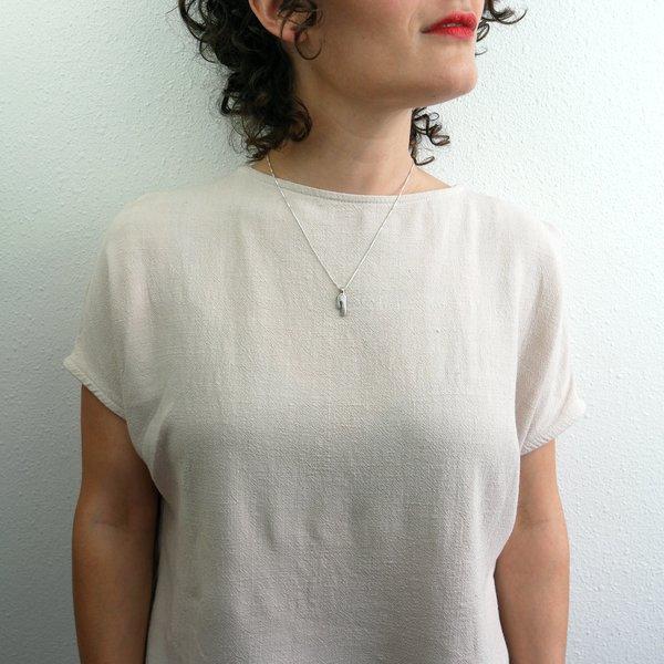 Rebekah J Designs Strength Necklace - Sterling Silver
