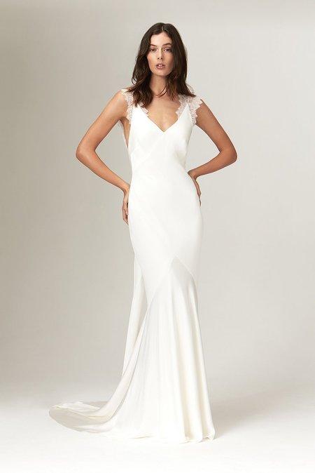 Savannah Miller ALMA DRESS - IVORY
