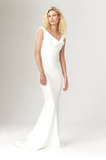 Savannah Miller AVALON DRESS - IVORY