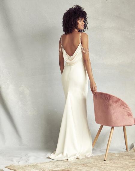 Savannah Miller LOTTIE DRESS - IVORY
