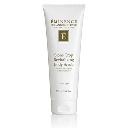 Eminence Organic Skin Care Stone Crop Revitalizing Body Scrub