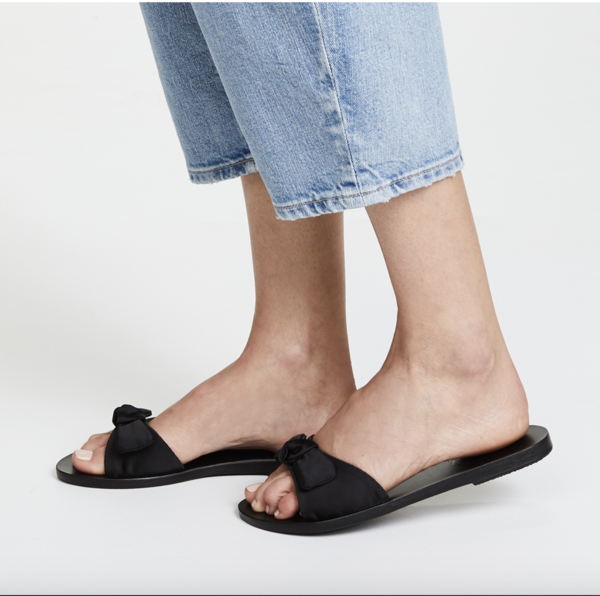 Ancient Greek Alki Sandal - black