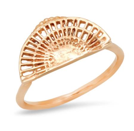 Studio Grun Fan Ring - gold