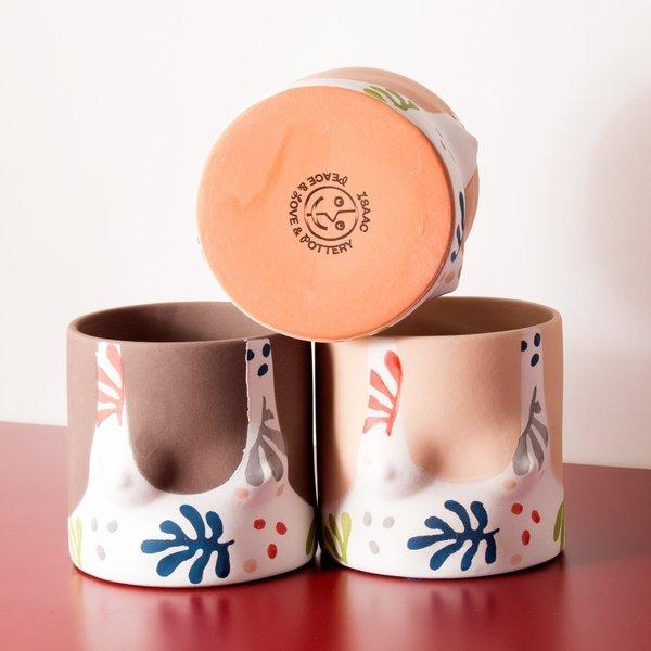 Group Partner Clay Pot