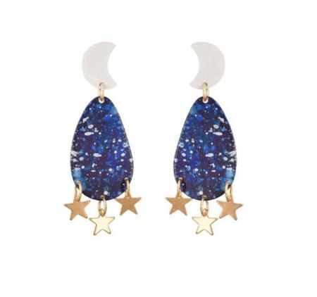We Dream in Colour Mini Galaxy Earrings
