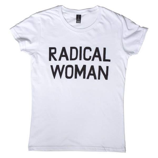 Banquet Atelier & Workshop Radical Woman Tee - white