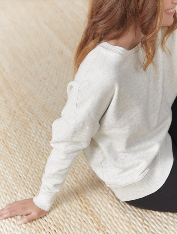 Frank & Eileen Ribbed Knit Pullover