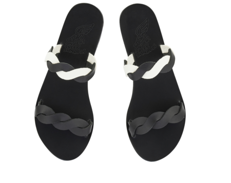 Ancient Greek Skiriani Slide - Black/Off White