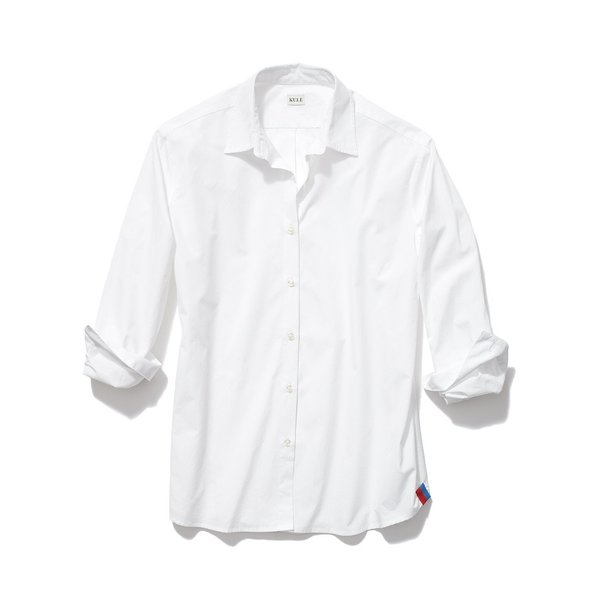 Kule The Hutton Button Down - White