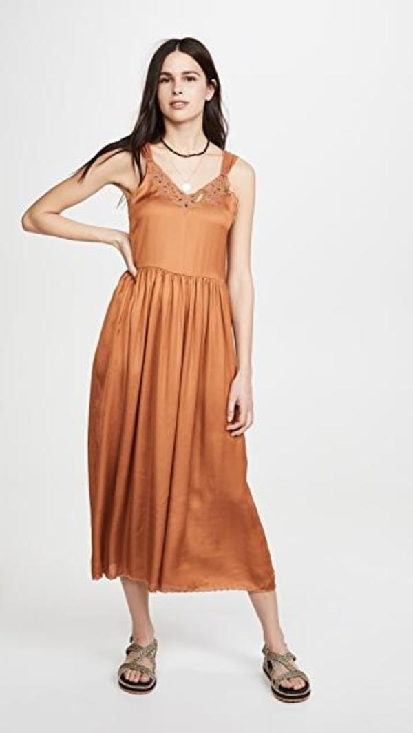 The Great. The Maple Leaf Dress - montana gold