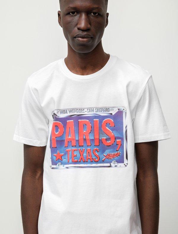 Idea Paris Texas License Plate T-Shirt