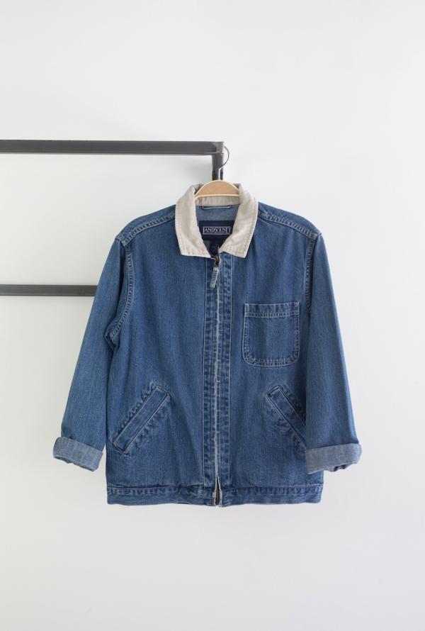 Vintage spring jacket - denim